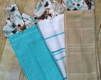 Hanging Kitchen towels, Over the handle towels, Kitchen towels, Kitchen hand towels