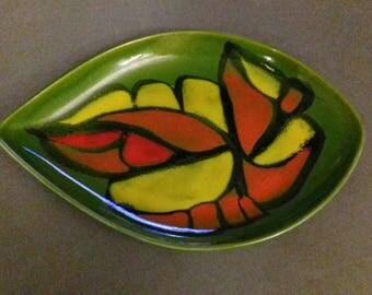 Poole Pottery Delphis Dish