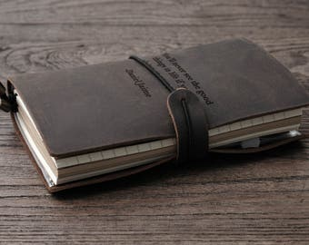Writing Journal Adventures Of Mr & Mrs , Husband Gift , Personalized Leather Journal