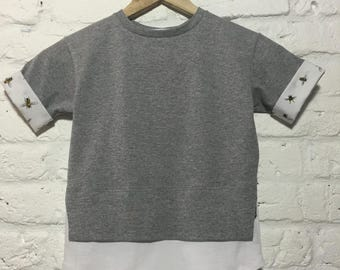 Bizz short sleeve sweater