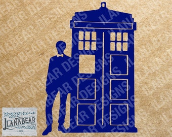 Doctor Who #11 with Tardis