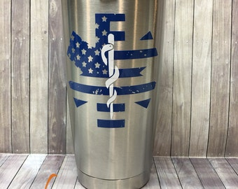 Star of Life / EMS 20oz Stainless Steel Insulated Tumbler