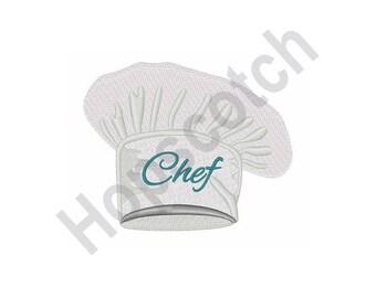 Chef Hat - Machine Embroidery Design
