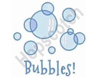 Bubbles - Machine Embroidery Design