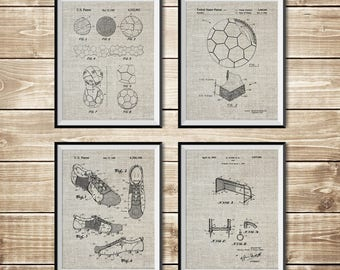 Soccer Wall Decor, Patent Print Group, Soccer Coach Gift, Soccer Art Poster, Soccer Wall Poster, Soccer Poster, FIFA Print, INSTANT DOWNLOAD