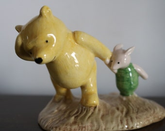Royal Doulton Winnie the Pooh Windy Day 70TH WP2 1996