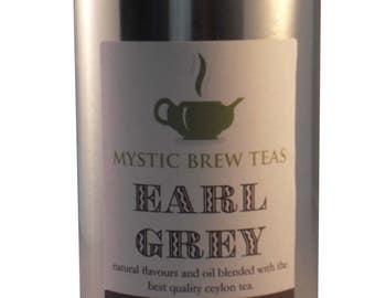 Mystic Brew Teas Earl Grey Loose Leaf Tea 100g Caddy