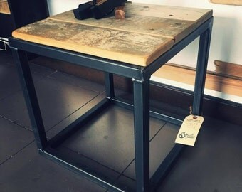 Recycled wooden low table
