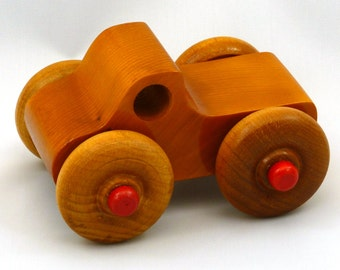 Monster Truck, Wooden Toy Truck, Reclaimed, Toy Truck, Wooden Truck, Toys, Pickup, Hardwood, Handmade, Handcrafted, Wood Truck, Made In USA