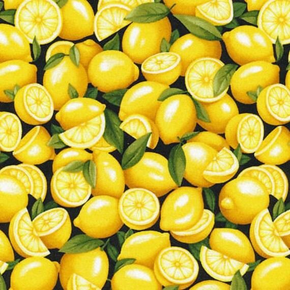 Fruit Fabric Lemon Fabric New Fabri Quilt Farmer John S