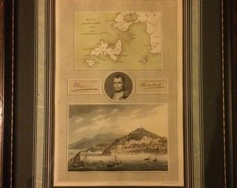 Napoleon Bonaparte Porto Ferrajo Collage