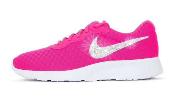 118166328 Swarovski Nike Shoes Women s Nike Tanjun by BlingandDesignShop low-cost