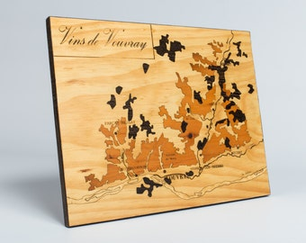 Marquetry, VOUVRAY wines
