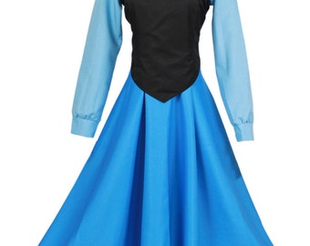 The Little Mermaid Adult Ariel Princess Dress Ariel Cosplay Costumes