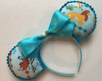 Disney Lion King inspired Minnie Ears