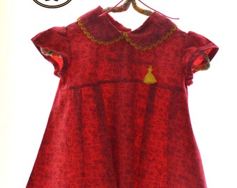 Flower dress for girls Gladiola Summer Collection