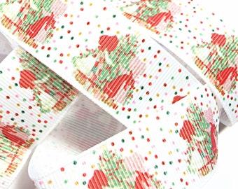 Holly hobbie Christmas holiday tree ribbon