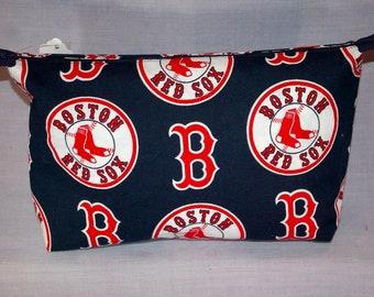 Boston Red Sox Zippered Bag - Blue