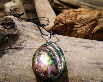 Real abalone necklaces, abalone necklace, abalone, abalone Jewerly, abalone