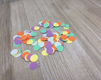 Circle Confetti, Bright Confetti, Paper Confetti, Party Supplies, Baby Shower, Bridal Confetti, Table Decorations, Table Decor