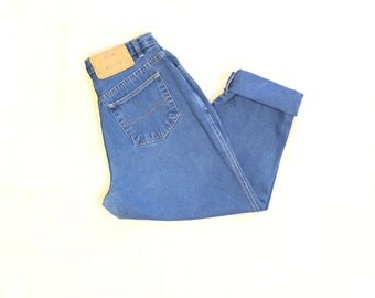 PS Gitano High Waist Women's Denim Mom Jeans Size 14 Short  28X25 1/2