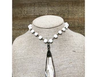 Large Crystal Necklace