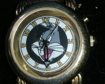 Vintage Bugs Bunny Watch by Armitron for Warner Brothers