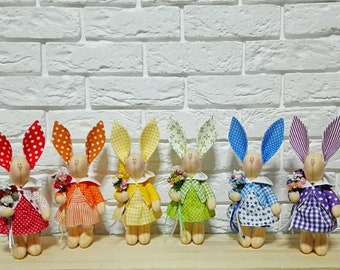 "Interior toys of my collection ""Easter bunnies"""