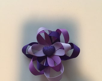 Purple Heart bow