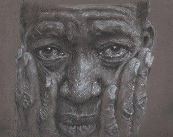 Limited Edition Print, 'Portrait #2'