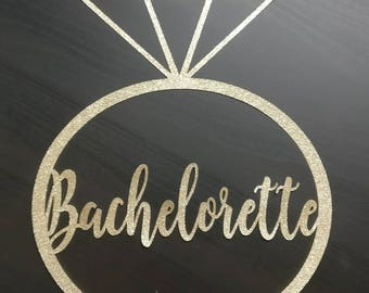 Bachelorette Party Decoration, Bachelorette Ring, Bachelorette Decor, Bachelorette Sign, Nashlorette Decorations