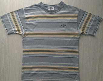 BEAR T Shirt The Most Famous Surf Brand In USA Striped