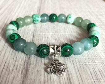 Luck and Fortune Gemstone Bracelet,abundance,wealth,gemstone jewellery,gemstone gifts,healing crystals,spiritual jewellery,reiki charged,mal