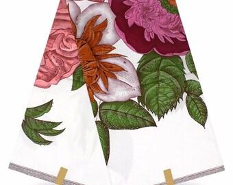 3D Original Wax Fabric/ African Bold Flowered Wax Fabric/ 6 yards wholesale Wax Fabric/ Ankara wax Fabric