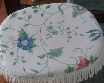 Vintage FootStool Shaggy Chic Cottage