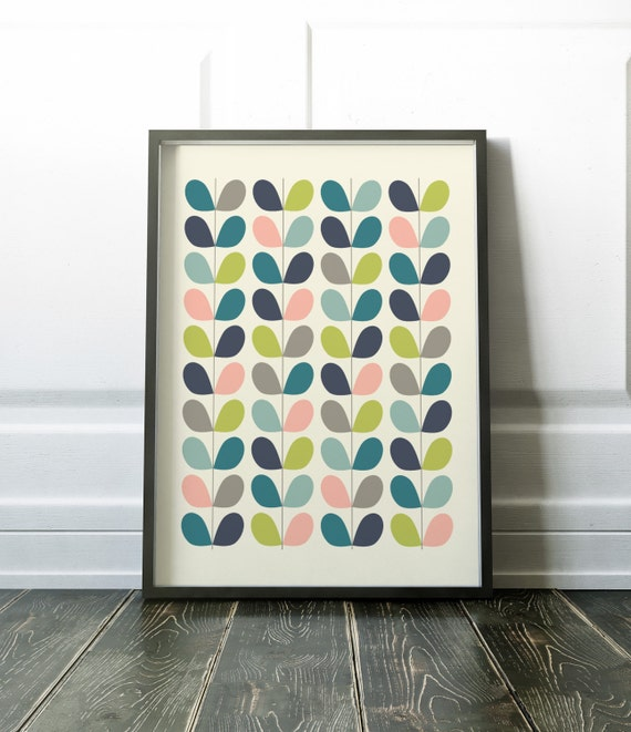 Scandinavian print wall art prints minimalist print modern for Modern minimalist wall art