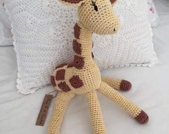 Twiggy the crochet giraffe