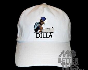 J Dilla Dad Hat cap black or white