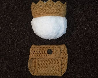 Newborn Crown, Crochet Newborn Crown, Newborn Crown Prop