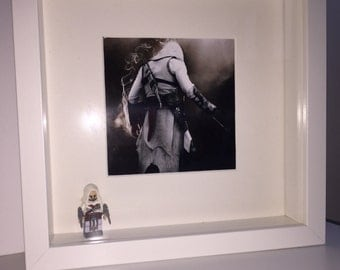 Assassins Creed inspired frame with Mini Figure.
