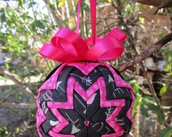 Valentine's Day Quilted Ornament