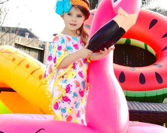 Ready to SHIP ! Girls swimdress beach dress Coverup Boho style