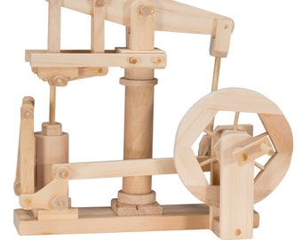 BB  Wooden Automata - Beam Engine