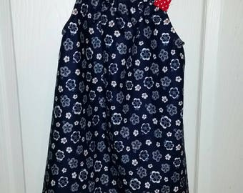 Little girls pillow dress