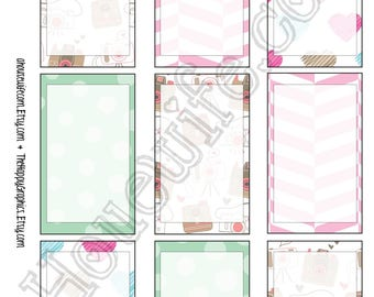 Happy Planner stickers [271] , Full box, A5 PDF, Instant download