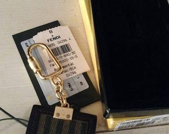 Beautiful Authentic Fendi keychain