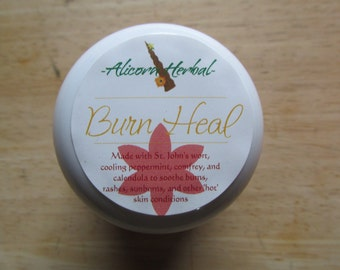 Burn Heal Herbal Salve