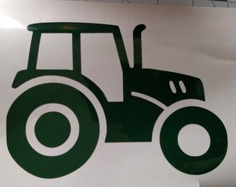 Tractor Vinyl Graphic Decal
