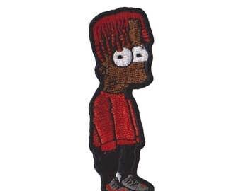 Black Bart Simpson lil Yachty Iron / sew Patch