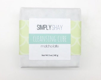 Matcha Latte Cleansing Cube